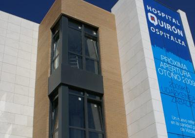 Detalle fachada Hospital Quiron_1