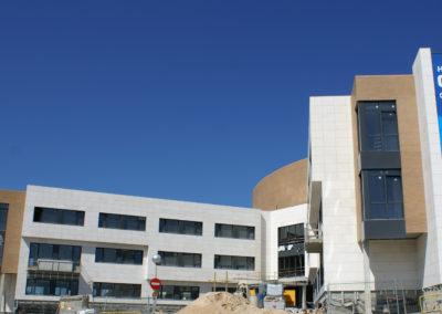 Detalle fachada Hospital Quiron_7
