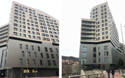 Hotel Vincci y viviendas